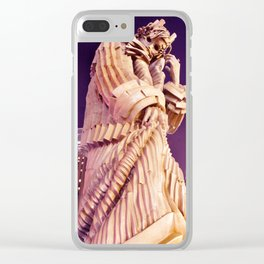 King Lear Chicago Clear iPhone Case