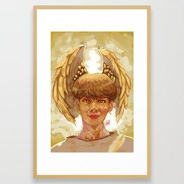 Jimin Di Angle Framed Art Print