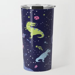 Dinosaurs in Space Travel Mug