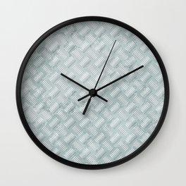 Metal plate Wall Clock