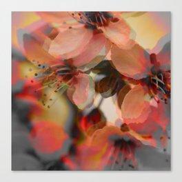 Spring Flames Canvas Print