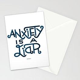 Anxiety i Stationery Cards