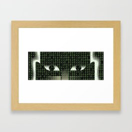 Hellish Hack Framed Art Print