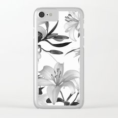 Glorious Lilies 2 Clear iPhone Case