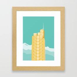 Herron Tower Framed Art Print