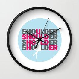 072 SHOULDER Wall Clock