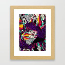 Color Husky (Feat. Bryan Gallardo) Framed Art Print