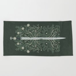 Flame of the West Beach Towel