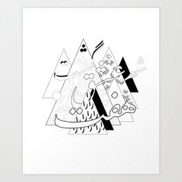 هفت شهر عشق Art Print