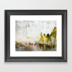 Muskoka Rain  Framed Art Print