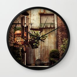Hidden Alley Wall Clock