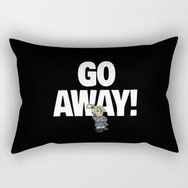 No! no.2 Rectangular Pillow