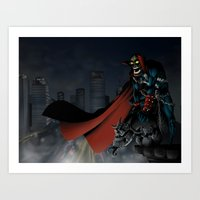 spawn Art Prints featuring Spawn by Fuacka