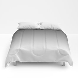 Gray Light Ombre Comforters