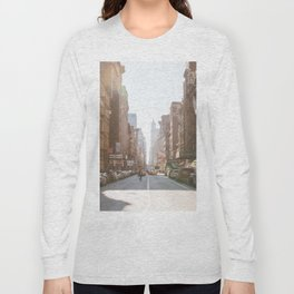 New York City Streets Long Sleeve T-shirt