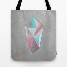 Iridescent Geometry Gem Tote Bag