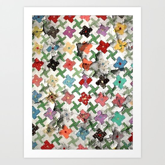 Mother's Quilt Art Print