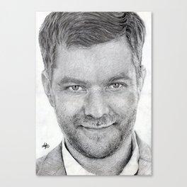 Joshua Jackson ~ Peter Bishop Canvas Print