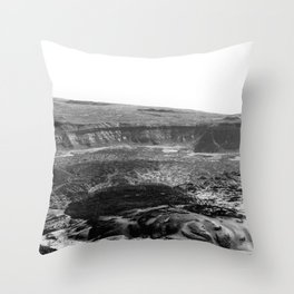 PNdT from above Throw Pillow
