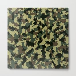 camouflage-military Metal Print