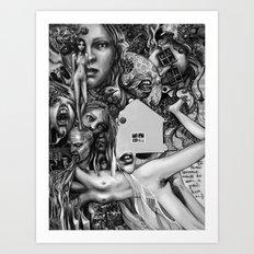 Agoraphobia Art Print
