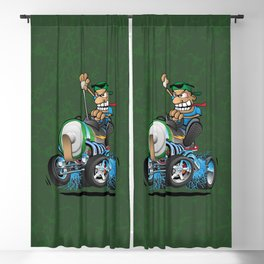 Hot Rod Electric Car Blackout Curtain