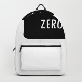 ZERO CHILL. Backpack
