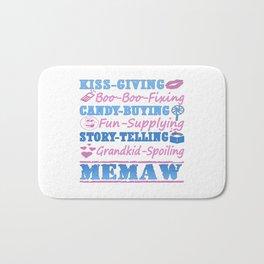 I'M A PROUD MEMAW! Bath Mat