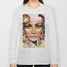 Gypsy's Secret by Sonia Laurin Long Sleeve T-shirt