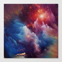 Misterious Space Canvas Print