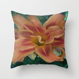 Botanical Florals Zencolor1 Throw Pillow