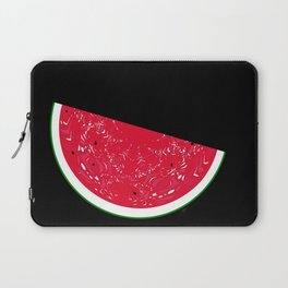 """An Estimated 1600 people in the world are named """"Watermelon"""" Laptop Sleeve"""