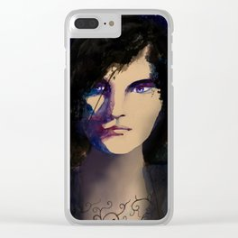 Rhysand A Court of Thorns and Roses Clear iPhone Case