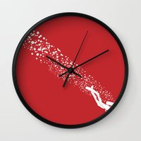 scuba Wall Clocks featuring Scuba Diving by Lotecani