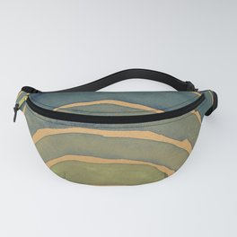 Georgia O'Keeffe - Light Coming on the Plains No. 1 Watercolor Fanny Pack