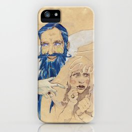 Bluebeard iPhone Case
