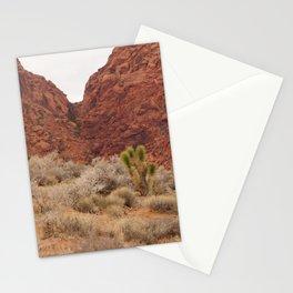 Red Badlands Stationery Cards