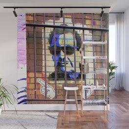 Melbourne Graffiti Street Art - Bono behind bars Wall Mural