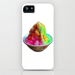Singapore dessert -Ice Kacang iPhone Case