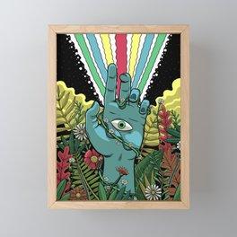Hand of Sight Framed Mini Art Print