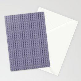 Black and Lavender Skulls Stationery Cards