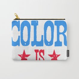 MY FAVORITE COLOR IS _MERICA! T-SHIRT Carry-All Pouch
