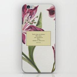 You're mine...Jamie Fraser. Outlander. iPhone Skin