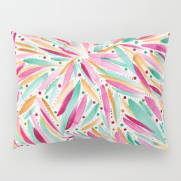 Summer Vibes in stripes and dots Pillow Sham