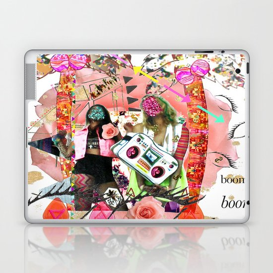 Rose-tinted Lashes In The Boom Boom Room Laptop & iPad Skin