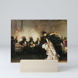 El Jaleo by John Singer Sargent - Vintage Fine Art Oil Painting Mini Art Print