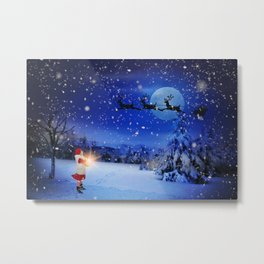 Christmas eve Metal Print