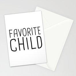 Favorite Child Stationery Cards