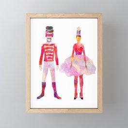 Nutcracker Ballet Framed Mini Art Print