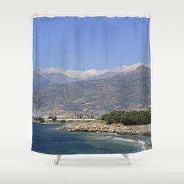 Crete, Greece 8 Shower Curtain